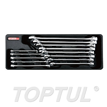 13PCS - 15° Offset Super-Torque Combination Wrench Set (SAE)