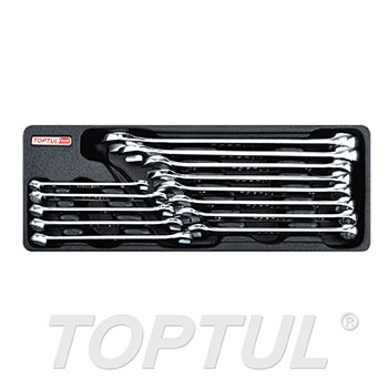 13PCS - 15° Offset Pro-Line Combination Wrench Set
