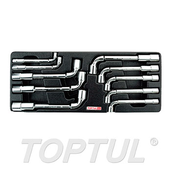 10PCS - Angled Socket Wrench Set