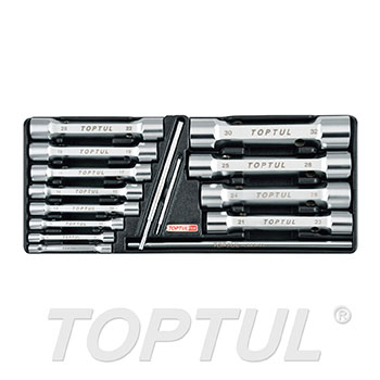 15PCS - Double End Socket Wrench Set