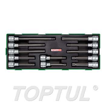 "12PCS - 1/2"" DR. Bit Socket Set"