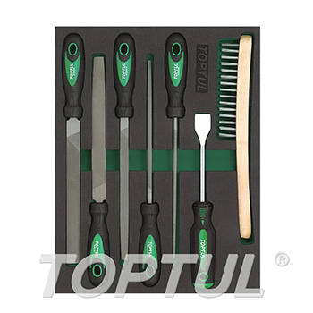 7PCS - File Tool Set