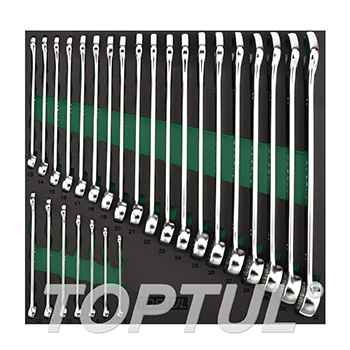 26PCS - 15° Offset Pro-Line Combination Wrench Set