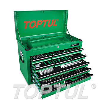 186PCS Professional Mechanical Tool Set W/9-Drawer Tool Chest