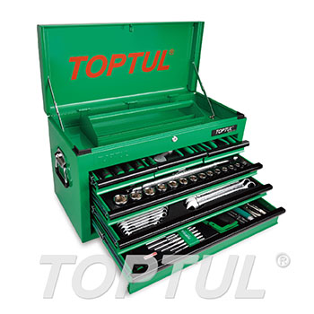 120PCS Professional Mechanical Tool Set W/6-Drawer Tool Chest