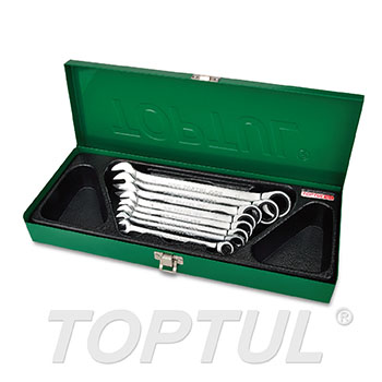 8PCS Pro-Series Ratchet Combination Wrench Set