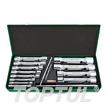 15PCS Double End Socket Wrench Set