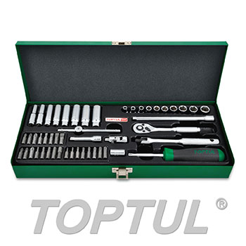 "50PCS 1/4"" DR. Socket Set"