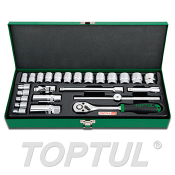 "25PCS 3/8"" DR. Socket Set"