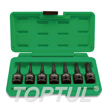 "7PCS 3/8"" DR. Star Bit Impact Socket Set"