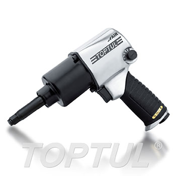 "1/2"" DR. Long Anvil Super Duty Air Impact Wrench (Max. Torque 400 Ft-Lb)"