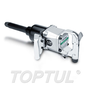 "1"" DR. Long Anvil Super Duty Air Impact Wrench (Max. Torque 1800 Ft-Lb)"