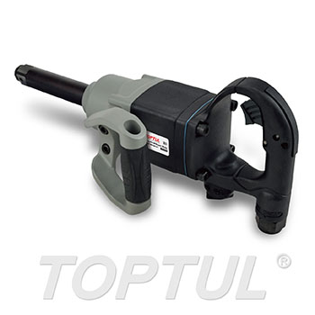 "1"" DR. Long Anvil Super Duty Air Impact Wrench (Max. Torque 1600 Ft-Lb)"