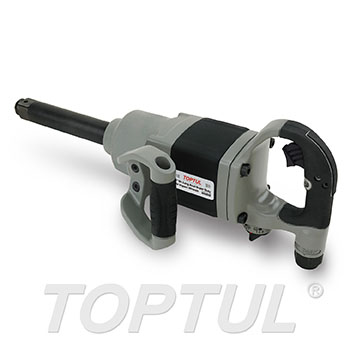 "1"" DR. Long Anvil Super Duty Air Impact Wrench (Max. Torque 2000 Ft-Lb)"