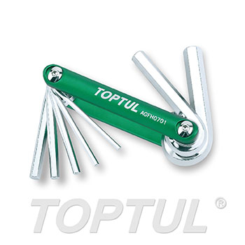 7-in-1 Folding Hex Key Set