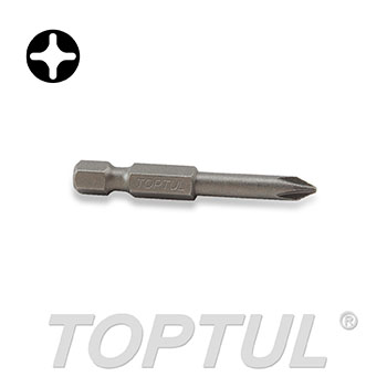 "1/4"" Hex Shank Phillips Power Screwdriver Bits (50mm)"