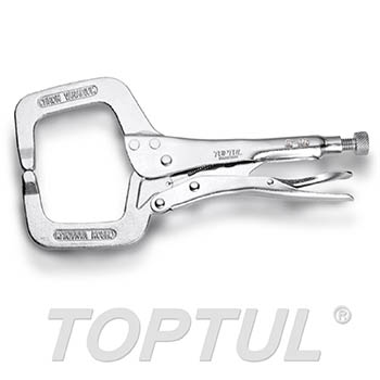 C-Clamp Locking Pliers with Standard Tip