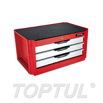 3-Drawer Middle Tool Chest - NEW PRO-LINE SERIES - RED