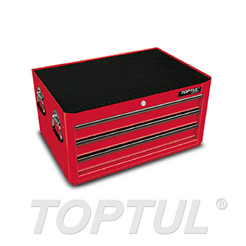 3-Drawer Middle Tool Chest - GENERAL SERIES - RED