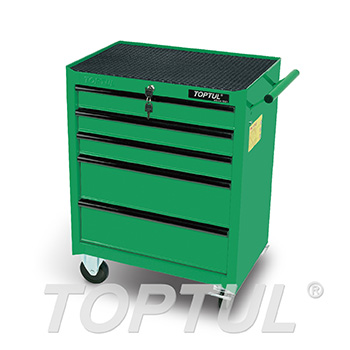 Small 5-Drawer Mobile Tool Trolley