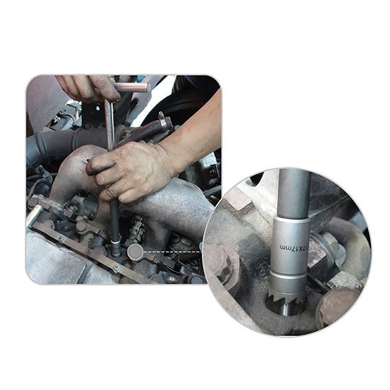 7pcs Diesel Injector Seat Cutter Set Toptul The Mark Of