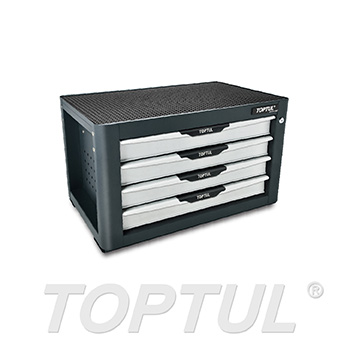NEW MODEL - 4-Drawer Tool Chest - PRO-PLUS SERIES - GRAY