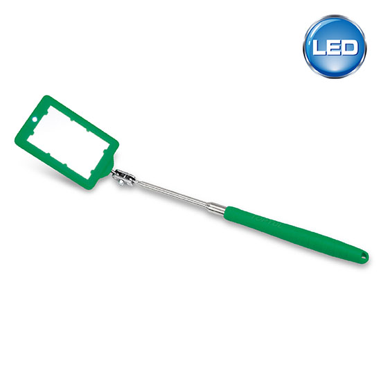 Telescoping Inspection Mirror With Led Light Toptul The