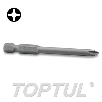 "1/4"" Hex Shank Phillips Power Screwdriver Bits (70mm)"