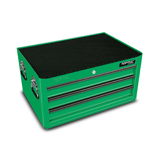3 Drawer Middle Tool Chest General Series Green