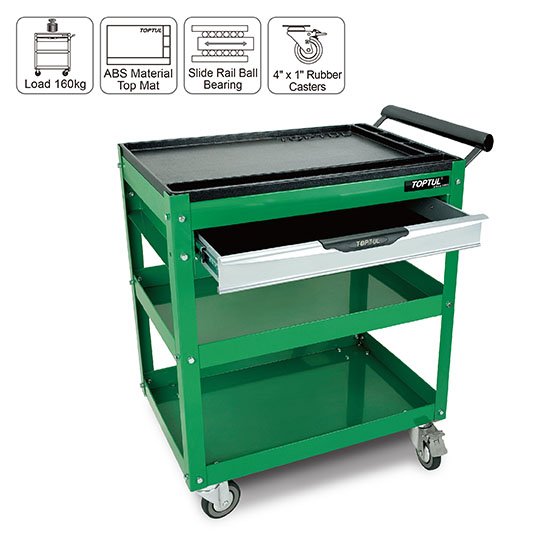 1 Drawer Service Cart Toptul The Mark Of Professional Tools