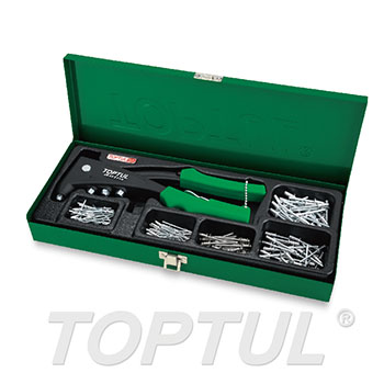 151PCS Pro-Series Hand Riveter Set