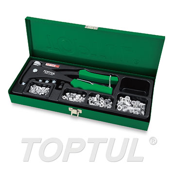 121PCS Industrial Hand Nut Riveter Set
