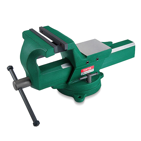 Forged Steel Bench Vise Toptul The Mark Of Professional Tools