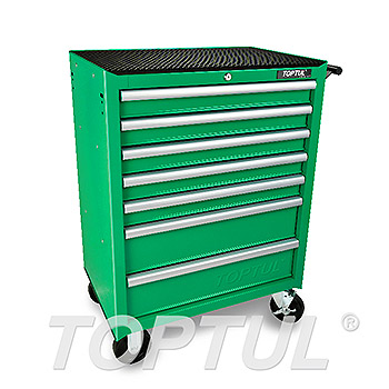 7-Drawer Mobile Tool Trolley - ECONOMIC SERIES - GREEN