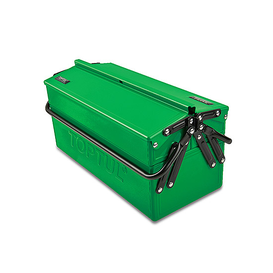 2 Sections Portable Tool Chest Toptul The Mark Of