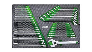 Tủ dụng cụ 7 ngăn 213 chi tiết TOPTUL GE-21351